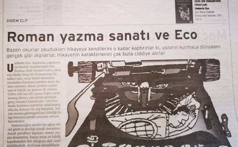 Roman Yazma Sanatı ve Eco